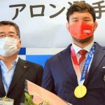 ウルフ・アロンが内田市長を表敬訪問 3年後のパリを目指す
