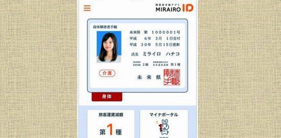 障がい者手帳の提示 京成グループのバス会社 スマホでOK!「ミライロID」